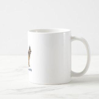 My GSD Basic White Mug