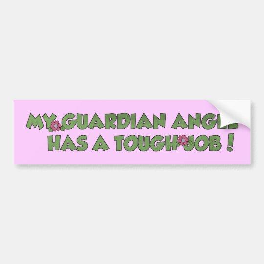 My Guardian Angel Bumper Sticker