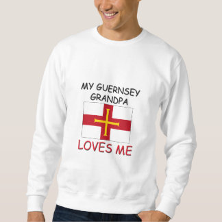 My Guernsey Grandpa Loves Me Sweatshirt