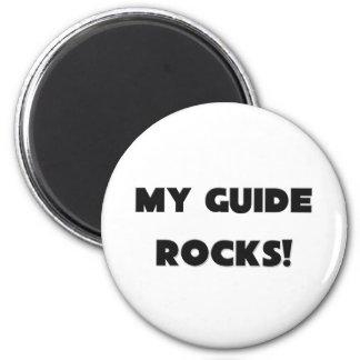 MY Guide ROCKS! 6 Cm Round Magnet