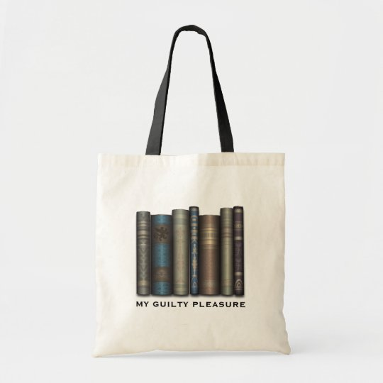 My Guilty Pleasure Book Lover Tote Bag