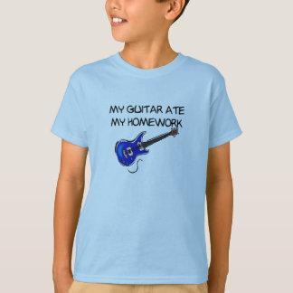 My Guitar Ate My Homework T-shirt