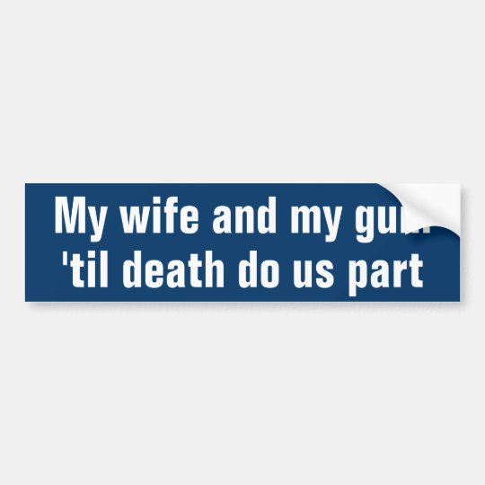 My Gun Bumper Sticker