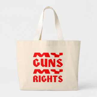 My Guns My Rights Canvas Bags
