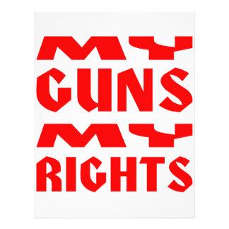My Guns My Rights Flyer