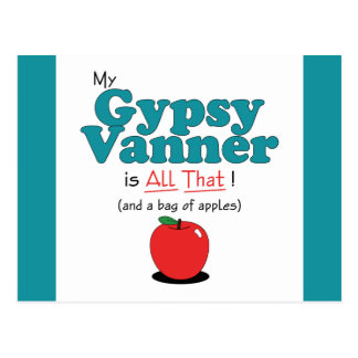 My Gypsy Vanner is All That! Funny Horse Postcard