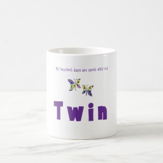 My Happiest Days Are Spent With My Twin Mug