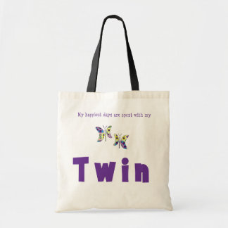 My Happiest Days Are Spent With My Twin Tote Bag