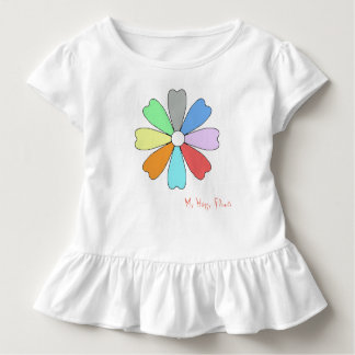 My Happy Flower Toddler Raffle Tee