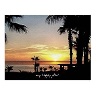 my happy place  mexico postcard