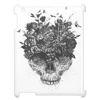 My head is a jungle (blackandwhite) iPad cover