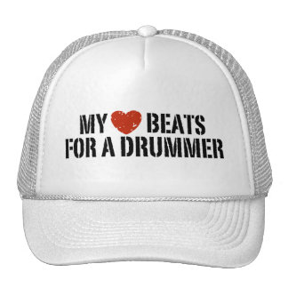My Heart Beats For a Drummer Cap