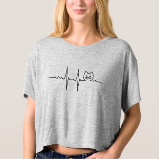 My Heart beats for Cat T-Shirt