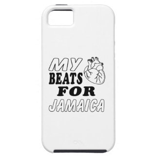My Heart Beats For Jamaica iPhone 5 Cases