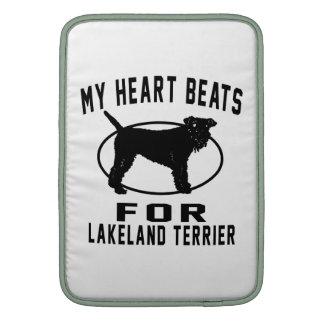 MY HEART BEATS FOR Lakeland Terrie Sleeves For MacBook Air