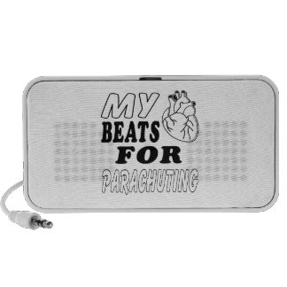 My Heart Beats For Parachuting. iPod Speakers