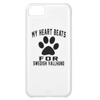 MY HEART BEATS FOR Swedish Vallhund iPhone 5C Case