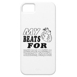 My Heart Beats For Wheelchair Basketball. iPhone 5 Covers