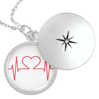 my heart beats for you! sterling silver necklace
