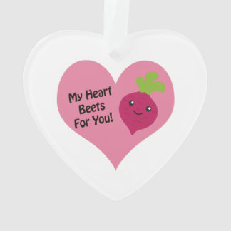 My Heart Beets for you Ornament