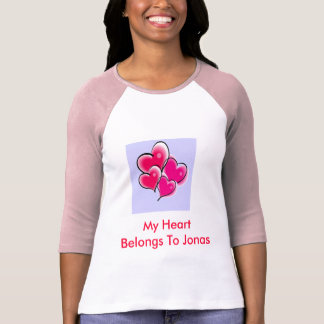 My Heart belong to Jonas T-Shirt