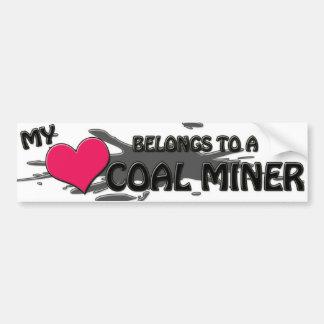 My Heart Belongs...Bumper Sticker Bumper Sticker