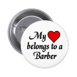 My heart belongs to a Barber Pin