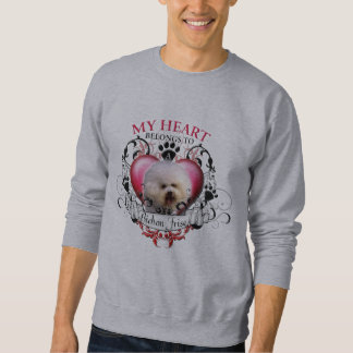 My Heart Belongs to a Bichon Frise Sweatshirt