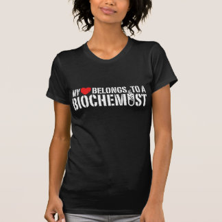 My Heart Belongs To A Biochemist T-Shirt