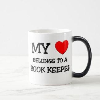 My Heart Belongs To A BOOK KEEPER Mugs