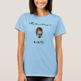 My heart belongs to a Cajun T-Shirt