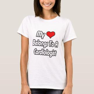 My Heart Belongs To A Cardiologist T-Shirt