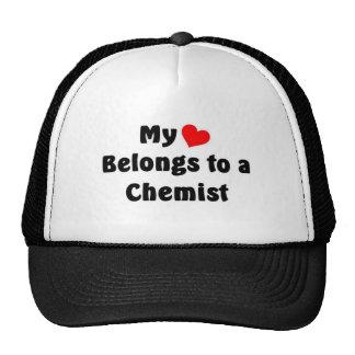 My heart belongs to a Chemist Mesh Hat