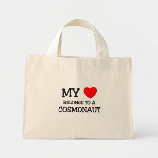 My Heart Belongs To A COSMONAUT Bags