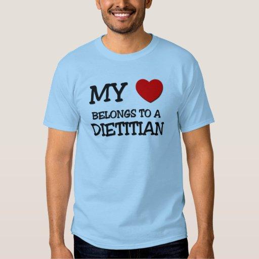 My Heart Belongs To A DIETITIAN Shirt