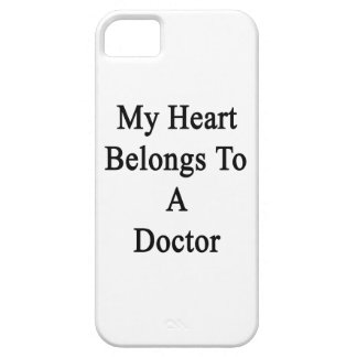 My Heart Belongs To A Doctor iPhone 5 Cover