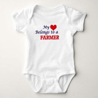 My heart belongs to a Farmer Tee Shirt