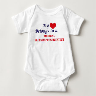 My heart belongs to a Medical Sales Representative Tee Shirt