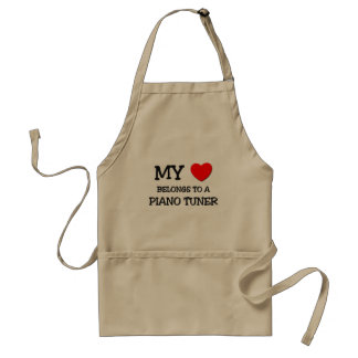 My Heart Belongs To A PIANO TUNER Standard Apron