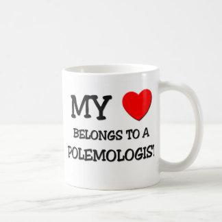 My Heart Belongs To A POLEMOLOGIST Mugs