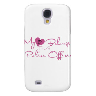 My Heart Belongs to a Police Officer Galaxy S4 Case