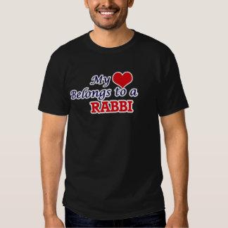 My heart belongs to a Rabbi Tees