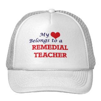 My heart belongs to a Remedial Teacher Cap