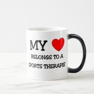 My Heart Belongs To A SPORTS THERAPIST Coffee Mug