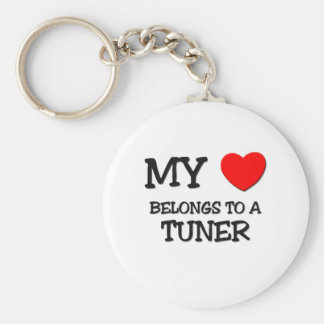 My Heart Belongs To A TUNER Keychains