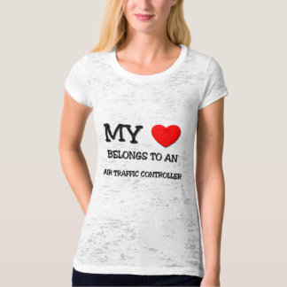 My Heart Belongs To An AIR TRAFFIC CONTROLLER T-Shirt
