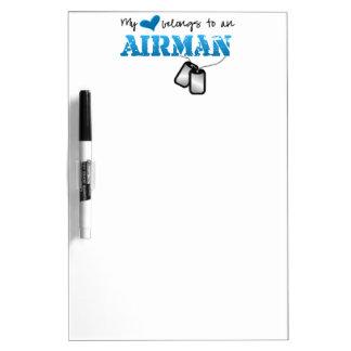 My Heart Belongs to an Airman Dry-Erase Boards