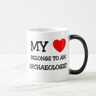 My Heart Belongs To An ARCHAEOLOGIST Mugs