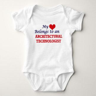 My Heart Belongs to an Architectural Technologist Tee Shirts
