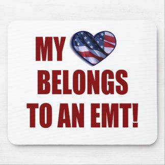 My Heart Belongs to an EMT Mouse Pads